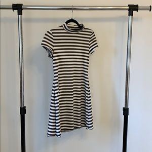 Stripped dress | free people | XS